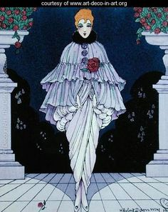 She was called Manon - Robert H. Dammy - www.art-deco-in-art.org