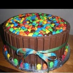 Candy-delish cake