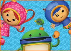 Team Umizoomi by Nickelodeon: Milli, Geo and Bot use their math skills to solve problems. kidstvmovies.abou... #Kids #Team_Umizoomi #Nickelodeon #Educational_TV #Math
