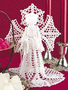 crochet angels patterns, christmas decorations, crochet christma, crochet pineappl, crochet angel patterns, christmas angels, christma angel, crochet patterns, pineappl angel