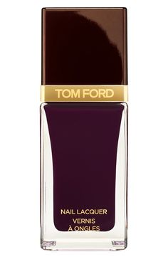 Trending | Tom Ford 'Fall 2014' nail lacquer. The rich black cherry polish is definitely in this season.