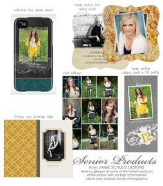 High School Senior templates
