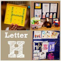 Home #Preschool Letter H