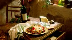 Dream: eat pasta in Italy.