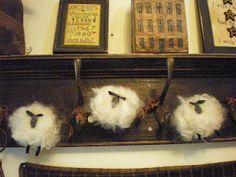 craft, patterns, patternlittl lamb, lamb garland, countri quilt