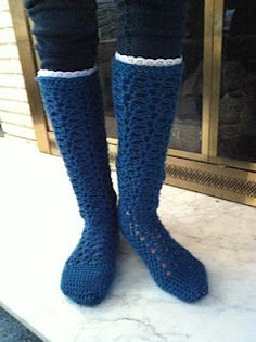 Fab Crochet Boot socks (lots of other patterns too)