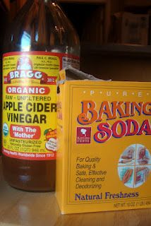Nourished and Nurtured: Frugal and Healthy Shampoo Alternative: Baking Soda and Apple Cider Vinegar