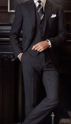 Pin stripe--love it