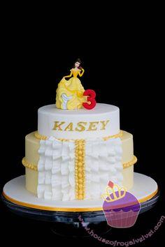 Princess Ruffles Cake for Kasey