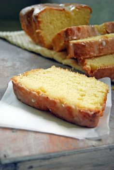 Copycat recipe of the delicious Starbucks Lemon Loaf Pound Cake dessert