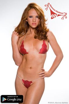 Red hot Samantha Harris is super #sexy in her  bling covered competition #bikini just for you. Not hard to see why she is the winner most of the time she enters a bikini contest.