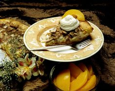 Creamy Almond Peach Pie