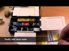 How To Make A Watercolour Colour Chart