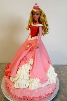 Sleeping Beauty cake