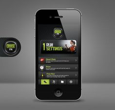 Cruise CTRL by Nate Scronce, via Behance #mobile #app #behance