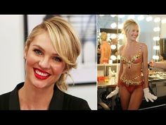 Candice Swanepoel Talks Wearing the Fantasy Bra at the Victoria's Secret...