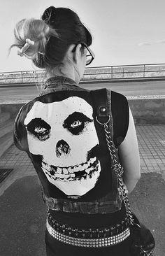 Punk #punk #fashion Misfit jacket