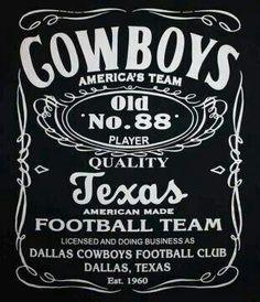 Dallas Cowboys I want this on a tshirt. :-)