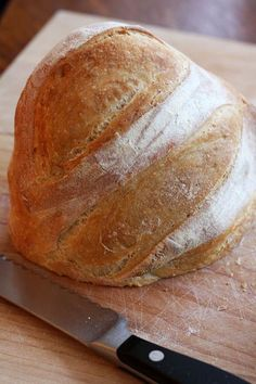 Fresh bread in 5 minutes