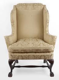 Philadelphia Chippendale wing chair circa 1780