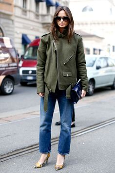 Click through to see more #streetstyle inspiration from Milan.