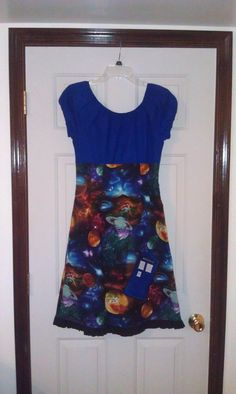 Doctor Who Timey Wimey Dress by GeekThread on Etsy, $80.00
