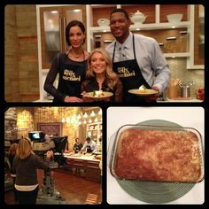 Michael's fiancée, Nicole Murphy, prepared her yummy Pumpkin Pudding Crunch for #Thanksgiving Family Recipe Week! To try this recipe at home, click here: http://dadt.com/live/recipe-finder.html?recipeID=15336