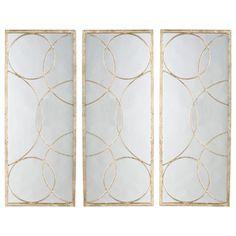 #arteriors nikita gold and iron #mirror #contemporary #design