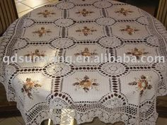 Crochet Lace | Crochet Lace Tablecloths | All For Crochet