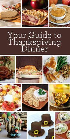 Thanksgiving Dinner Ideas #thanksgiving