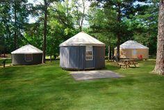 Glamping Yurts Georgia | Glam camping Georgia | Glam Yurts GA