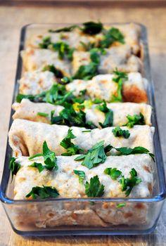 Mushroom Crepes with Vegan or Vegetarian Sauce recipe - Foodista.com