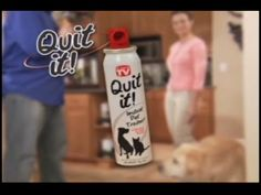http://asseenontvblog.net/index.php/quit-it-as-seen-on-tv-commercial/    As Seen on TV - Quit It!™ Stop Pets In Their Tracks!    #video #quitit #asseenontv #commercials #dogtrainer #asotv