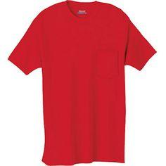 Hanes Men's Beefy Short Sleeve Pocket T-shirt