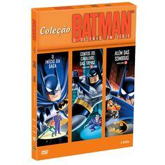 Coleção de DVDs Batman: O Desenho em Série #batman #lojadcomics #dccomics #comics #bandUP!