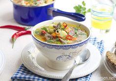 Beste kjøttsuppe ever i crock pot