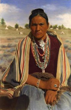 Vintage Navajo Woman