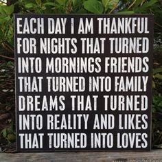 Thankful :)