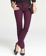 """Curvy Slim Corduroy Pants - Streamline your style: our new wear-with-all slim cords are designed in chic colors and super-soft corduroy so you can get a leg up on the season. Slightly more fitted at the waist. Our curviest fit, curvy through the hip and thigh and roomier at the back. Contoured waistband. Front zip with button closure. Belt loops. Classic five-pocket styling. 32"""" inseam."""