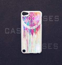 Ipod Touch 5 Case -  Dreamcatcher Ipod Touch 5 Cover,Colorful 5th gen ipod Touch Case. $14.99, via Etsy.