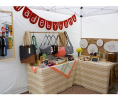 I have GOT to try this wooden display rack! (c) madebyhank display inspir, booth displays, craft fair booths, display idea, display rack, display boards, crafti inspir, crafts, banners