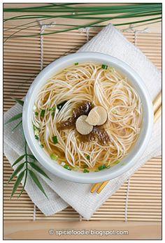 somen miso soup - vegan