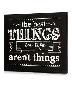 {The Best Things in