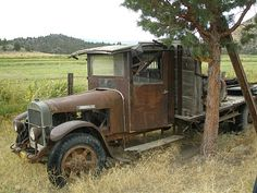 Stone Roads: Old Trucks