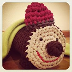 Lady Crochet: Tió de Nadal de trapillo