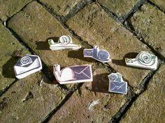 """Prutselz: """"snail-mail-art"""""""