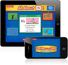 Letter of the Day Interactive - this app is also by Lakeshore Learning and great for kids ages 4-6.  Lakeshore apps are free until Dec 30th 2011