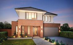 Metricon Home Designs: The Elysian - Traditional Facade. Visit www.localbuilders.com.au/builders_nsw.htm to find your ideal home design in New South Wales