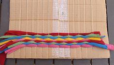 T-shirt weaving for kids