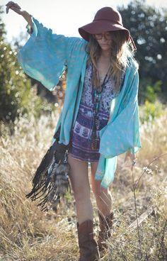 #gypsy #hippie #boho #style